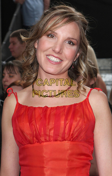 ELIZABETH BOWER .Arrivals - the British Soap Awards 2009,.BBC Television Centre, Wood Lane, London, England, UK, May 9th 2009..soaps tv portrait headshot red necklace .CAP/ROS.©Steve Ross/Capital Pictures