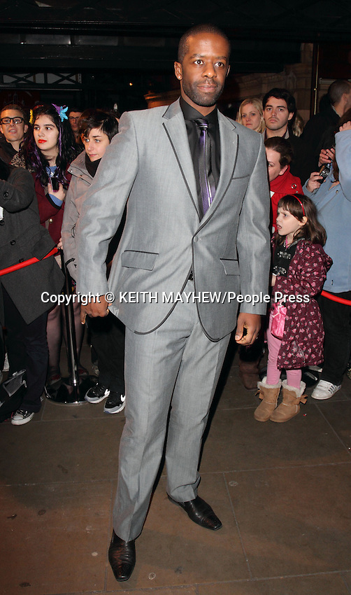 London - Arrivals for the Whatsonstage.com Theatregoers Choice Awards 2013 at the Palace Theatre, Shaftesbury Avenue, London on 17th February 2013..Photo by Keith Mayhew..