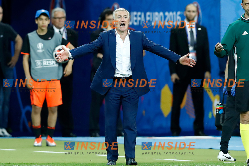 France coach Didier Deschamps. allenatore<br /> Paris 10-07-2016 Stade de France Football Euro2016 Portugal - France / Portogallo - Francia Final / Finale <br /> Foto Matteo Ciambelli / Insidefoto
