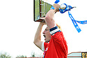 Mark Roberts of Stevenage Borough receives the Championship trophy after the Blue Square Premier match between Stevenage Borough and York City at the Lamex Stadium, Broadhall Way, Stevenage on Saturday 24th April, 2010..© Kevin Coleman 2010 ..