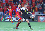 10.10.2015 Andorra. UEFA Europaen Championship Qualifying Round. Picture show Toby Alderweireld in action during match Andorra v Belgium