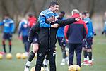 30.3.2018: Rangers training:<br /> Graeme Murty and Graham Dorrans