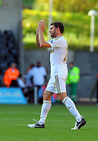 Saturday, 06 October 2012<br /> Pictured: of Swansea of Reading<br /> Re: Barclays Premier League, Swansea City FC v Reading at the Liberty Stadium, south Wales.<br /> Angle Rangel