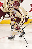 Taylor Wasylk (BC - 9) - The Boston College Eagles defeated the visiting Harvard University Crimson 3-1 in their NCAA quarterfinal matchup on Saturday, March 16, 2013, at Kelley Rink in Conte Forum in Chestnut Hill, Massachusetts.