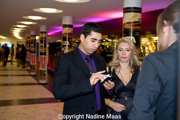 Utrecht, 22 september 2010.Nederlands Filmfestival 2010.Openingsavond, Mimoum Oaissa.Foto: Nadine Maas