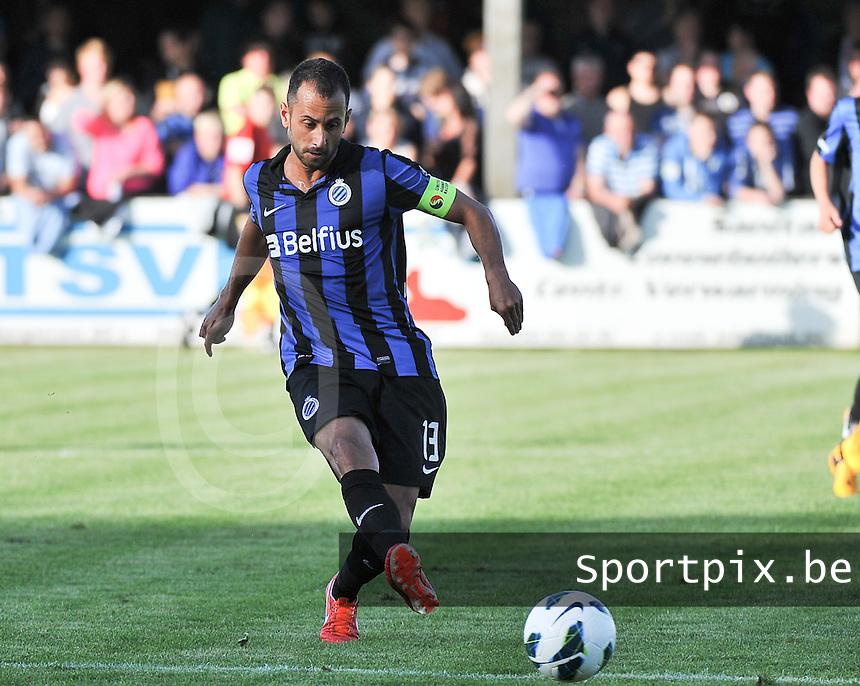 Torhout KM - Club Brugge KV : Victor Vazquez<br /> foto VDB / Bart Vandenbroucke