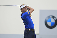 Joost Luiten (NED) tees off the 2nd tee during Thursday's Round 1 of the 2014 BMW Masters held at Lake Malaren, Shanghai, China 30th October 2014.<br /> Picture: Eoin Clarke www.golffile.ie