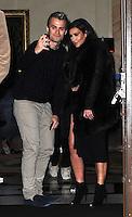 November 9th, 2012 - London..Kim Kardashian seen leaving her London hotel.<br /> (NortePhoto)