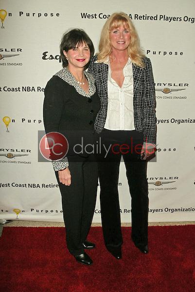 Cindy Williams and Penny Marshall