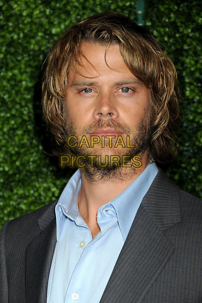 ERIC CHRISTIAN OLSEN.CBS Summer Press Tour Party 2010 held at The Tent, Beverly Hills, California, USA..July 28th, 2010.headshot portrait beard facial hair blue grey gray .CAP/ADM/BP.©Byron Purvis/AdMedia/Capital Pictures.