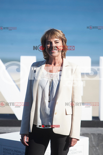 Actress Klara Badiola poses during `Amama´ film presenation at 63rd Donostia Zinemaldia (San Sebastian International Film Festival) in San Sebastian, Spain. September 21, 2015. (ALTERPHOTOS/Victor Blanco) /NortePhoto.com