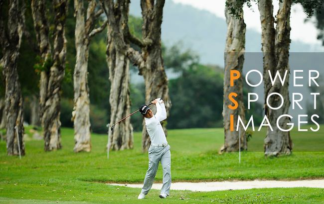 Action during Round 1 of the UBS Hong Kong Golf Open 2011 at Fanling Golf Course in Hong Kong on 1st December 2011. Photo © Mike Pickles/ The Power of Sport Images