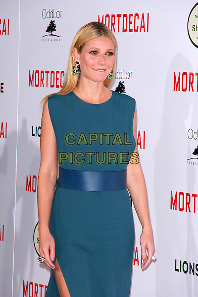 LOS ANGELES, CA - JANUARY 21: Gwyneth Paltrow at the LA premiere of Mortdecai at TCL Chinese Theatre in Los Angeles, California on January 21, 2015. <br /> CAP/MPI/DC/DE<br /> &copy;DE/DC/MPI/Capital Pictures