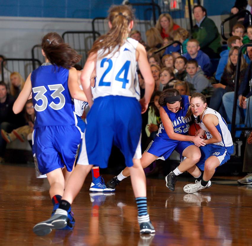 Manasquan Elementary School girls basketball team