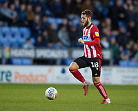 Lincoln City's Jorge Grant<br /> <br /> Photographer Andrew Vaughan/CameraSport<br /> <br /> The EFL Sky Bet League One - Shrewsbury Town v Lincoln City - Saturday 11th January 2020 - New Meadow - Shrewsbury<br /> <br /> World Copyright © 2020 CameraSport. All rights reserved. 43 Linden Ave. Countesthorpe. Leicester. England. LE8 5PG - Tel: +44 (0) 116 277 4147 - admin@camerasport.com - www.camerasport.com