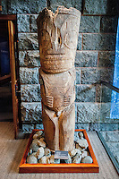 Carved wooden image from Marquesan Islands, Bishop Museum, Honolulu