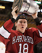 Adam Fox (Harvard - 18) - The Harvard University Crimson defeated the Boston University Terriers 6-3 (EN) to win the 2017 Beanpot on Monday, February 13, 2017, at TD Garden in Boston, Massachusetts.