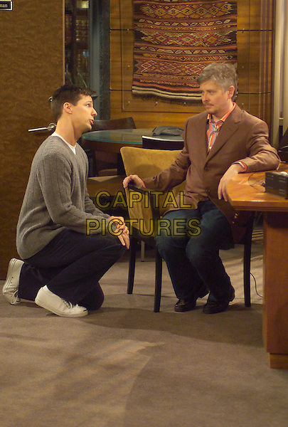 "SEAN HAYES & DAVE FOLEY .in Will & Grace.""Ice Cream Balls"".*Editorial Use Only*.www.capitalpictures.com.sales@capitalpictures.com.Supplied by Capital Pictures."