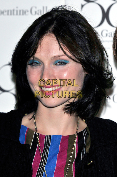 SOPHIE ELLIS BEXTOR .Attending the Serpentine Summer Party,.The Serpentine Gallery, London, England, 9th September 2008..portrait headshot blue turquoise eyeshadow make-up .CAP/PL.©Phil Loftus/Capital Pictures