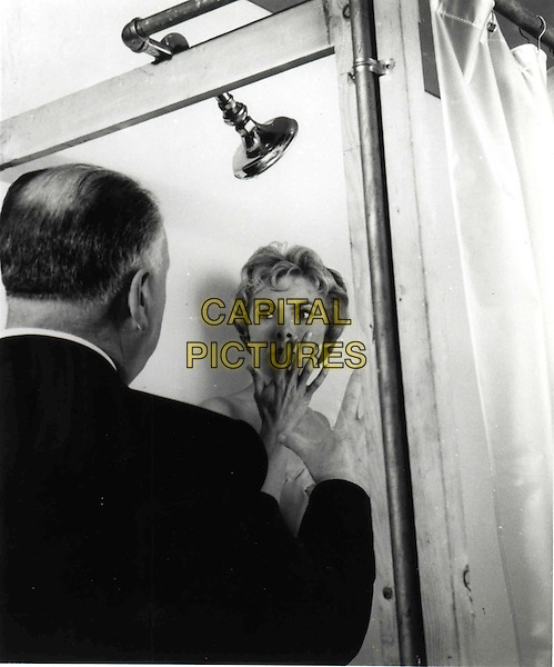 ALFRED HITCHCOCK directs JANET LEIGH.in Psycho.Filmstill - Editorial Use Only.Ref: FB.sales@capitalpictures.com.www.capitalpictures.com.Supplied by Capital Pictures.