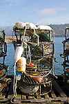 Garibaldi, crab pots, crabbing season, Oregon coast, Tillamook County, Oregon, Pacific Northwest, North America,