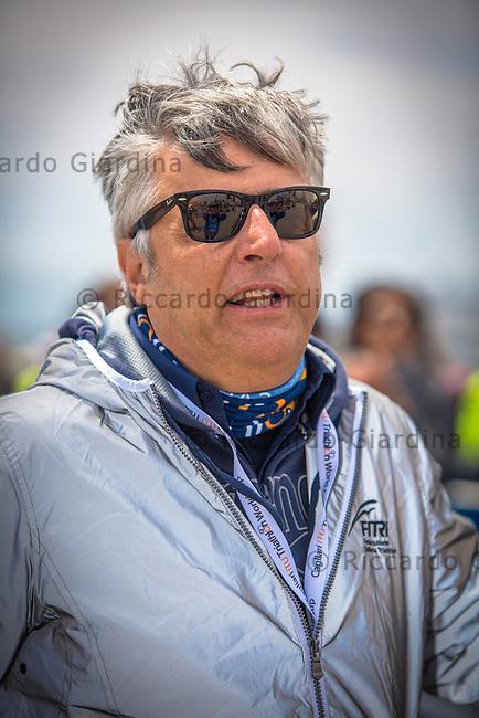 08/05/2016 - Il Presidente FITRI Luigi Bianchi, 2016 Cagliari ITU Triathlon World Cup -