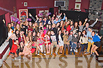 KEY TO THE DOOR: Shauna Coffey, Michael O'Regan Place, Tralee (seated centre) got a big surprise when a very large group of family and friends gathered to celebrated her 21st birthday at O'Donnell's restaurant and bar, Tralee on Saturday.