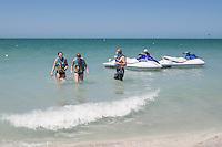 Water sports on Gulf of Mexico, Captiva Island, Florida, USA. Photo by Debi Pittman Wilkey