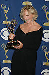 LOS ANGELES, CA. - September 20: Actress Glenn Close poses in the press room at the 61st Primetime Emmy Awards held at the Nokia Theatre on September 20, 2009 in Los Angeles, California.