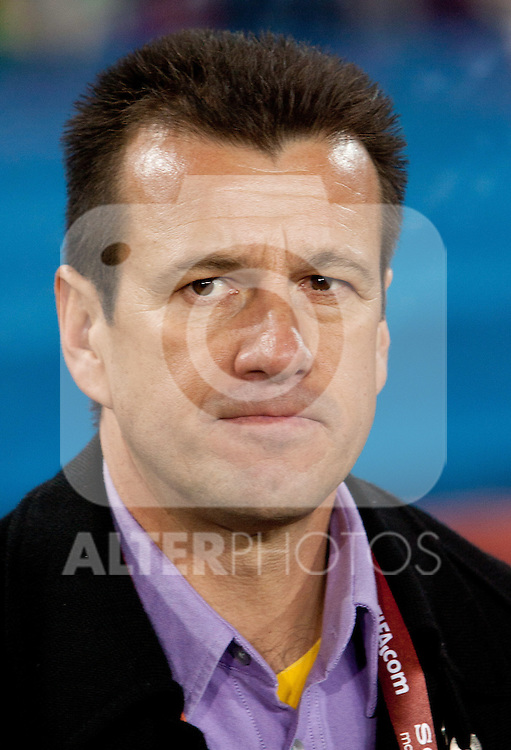 Head coach of Brazil Dunga during the 2010 FIFA World Cup South Africa. EXPA Pictures © 2010, PhotoCredit: EXPA/ Sportida/ Vid Ponikvar +++ Slovenia OUT +++