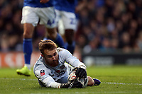 Will Norris of Ipswich Town saves during Ipswich Town vs Lincoln City, Emirates FA Cup Football at Portman Road on 9th November 2019