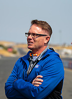 Jul 29, 2018; Sonoma, CA, USA; NHRA president Glenn Cromwell during the Sonoma Nationals at Sonoma Raceway. Mandatory Credit: Mark J. Rebilas-USA TODAY Sports