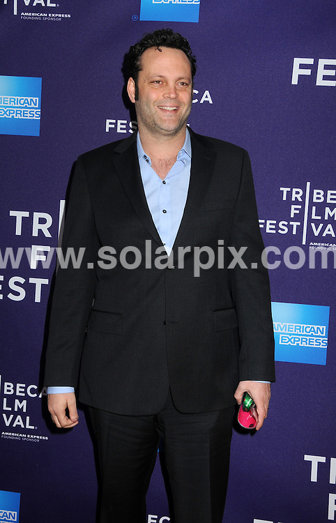 **ALL ROUND PICTURES FROM SOLARPIX.COM**.**SYNDICATION RIGHTS FOR UK, AUSTRALIA, DENMARK, PORTUGAL, S. AFRICA, SPAIN & DUBAI (U.A.E) & ASIA (EXCLUDING JAPAN) ONLY**.9th Annual Tribeca Film Festival - Just Like Us, Arrivals, Village East Cinema, NY, USA, 24 April 2010.This pic: Vince Vaughn.JOB REF: 11161    PHZ mayer    DATE:  24_04_2010.**MUST CREDIT SOLARPIX.COM OR DOUBLE FEE WILL BE CHARGED**.**MUST NOTIFY SOLARPIX OF ONLINE USAGE**.**CALL US ON: +34 952 811 768 or LOW RATE FROM UK 0844 617 7637**