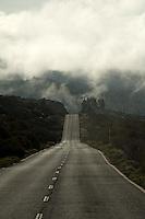 Road from the Teide observatory,Parque nacional de las Cañadas,Tenerife, Canary Islands, Spain