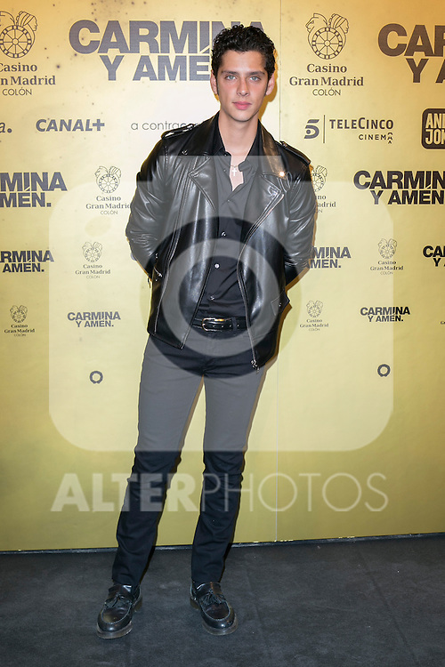 "Spanish actor Eduardo Casanova attend the Premiere of the movie ""Carmina y Amen"" at the Callao Cinema in Madrid, Spain. April 28, 2014. (ALTERPHOTOS/Carlos Dafonte)"