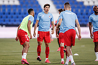 22nd June 2020; Estadio Municipal de Butarque, Madrid, Spain; La Liga Football, Club Deportivo Leganes versus Granada; Jesus Vallejo (Granada CF)  Pre-match warm-up