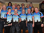 Members of the newly formed Slane Spinners Cycle Club pictured at their launch in The Boyne Valley Inn Slane. Photo:Colin Bell/pressphotos.ie