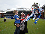 Ally McCoist with his son Arran