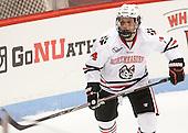 Garret Cockerill (NU - 14) - The visiting University of Vermont Catamounts defeated the Northeastern University Huskies 6-2 on Saturday, October 11, 2014, at Matthews Arena in Boston, Massachusetts.