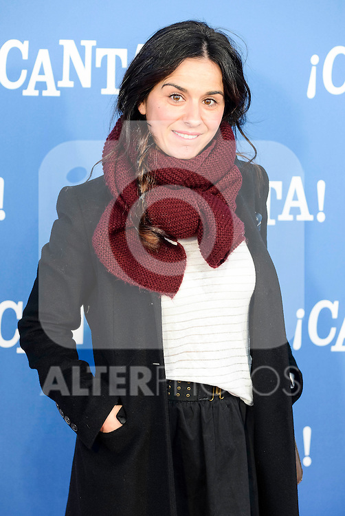 "Estibaliz Gabilondo attends to the premiere of the film ""¡Canta!"" at Cines Capitol in Madrid, Spain. December 18, 2016. (ALTERPHOTOS/BorjaB.Hojas)"