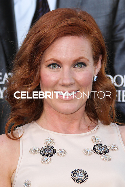 """WESTWOOD, LOS ANGELES, CA, USA - APRIL 07: Elisa Donovan at the Los Angeles Premiere Of Summit Entertainment's """"Draft Day"""" held at the Regency Bruin Theatre on April 7, 2014 in Westwood, Los Angeles, California, United States. (Photo by Xavier Collin/Celebrity Monitor)"""