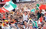 17.06.2018, Strasse des 17. Juni, Berlin, GER, WM-Fanmeile,UEFA WM 2018, Spiel Deutschland (GER) vs Mexico (MEX) im Bild Fanmeile anlasslich des ersten Gruppenspiels der Deutschen gegen Mexico in Berlin, Straße des 17. Juni  <br /> <br /> <br />      <br /> Foto © nordphoto / Engler