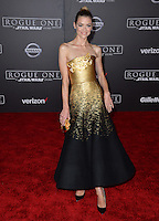 Actress Jaime King at the world premiere of &quot;Rogue One: A Star Wars Story&quot; at The Pantages Theatre, Hollywood. <br /> December 10, 2016<br /> Picture: Paul Smith/Featureflash/SilverHub 0208 004 5359/ 07711 972644 Editors@silverhubmedia.com
