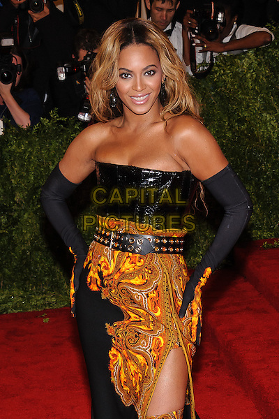 Beyonce Knowles.'PUNK: Chaos To Couture' Costume Institute Gala held at the Metropolitan Museum of Art, New York, USA 6th May 2012.CAP/ADM/CS.©Christopher Smith/AdMedia/Capital Pictures