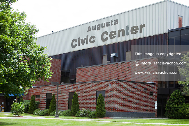 Augusta Civic Center is picture in Augusta, Maine Tuesday June 18, 2013. Owned by the city of Augusta, the Augusta Civic Center is a 6,777-seat multi-purpose arena.
