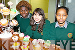 CHARITY: At the cake sale for the Bóthar charity which was held at Tralee Community College on Tuesday were l-r: Mistura Kareem, Adriana Godlova and Zahra Hussan.