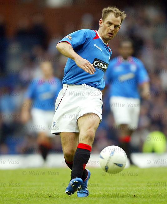 Ronald de Boer, Rangers.Stock Season 2003-2004.pic willie vass