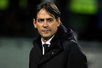 Simone Inzaghi of Lazio looks on ahead the Serie A 2018/2019 football match between Frosinone and Lazio at stadio Benito Stirpe, Frosinone, February 4, 2019 <br />  Foto Andrea Staccioli / Insidefoto