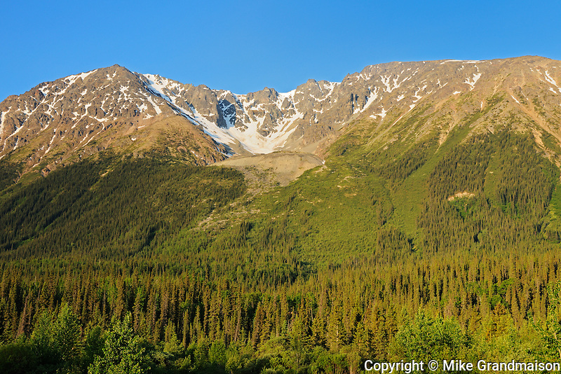Coast Mountains on the Stewart-Cassiar Highway<br /> <br /> Iskut<br /> British Columbia<br /> Canada
