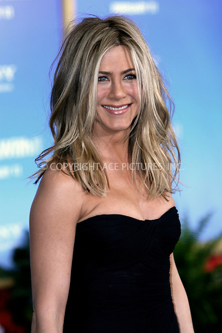 WWW.ACEPIXS.COM . . . . .  ....February 8 2011, New York City....Actress Jennifer Aniston arriving at the premiere of 'Just Go With It' at the Ziegfeld Theatre on February 8, 2011 in New York City.....Please byline: NANCY RIVERA- ACEPIXS.COM.... *** ***..Ace Pictures, Inc:  ..Tel: 646 769 0430..e-mail: info@acepixs.com..web: http://www.acepixs.com